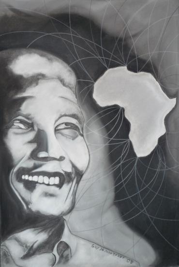 Nelson Mandela by f1orest